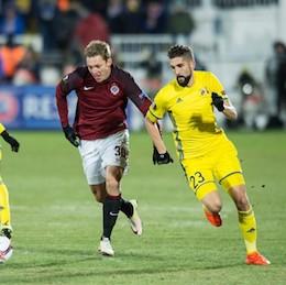 Sáček s Julišem odehráli za Spartu celý zápas v Rostově