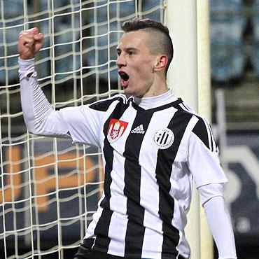 Pešek se podepsal gólem a asistencí pod výhru Českých Budějovic