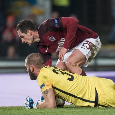 Sparta přejela Krasnodar a čeká ji Lazio, Buffel se trefil za Genk