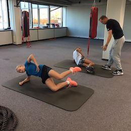 Tenisové naděje trénovaly na prestižní belgické klinice Move to cure!