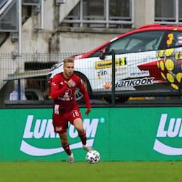 První ligový gól Ondřeje Zmrzlého přinesl další olomoucké vítězství